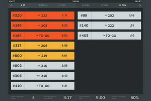 Increase productivity with Table Tracker.