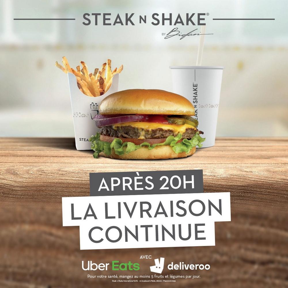 Le restaurant Steak'n Shake de Cannes remet à neuf ses pagers Table Tracker